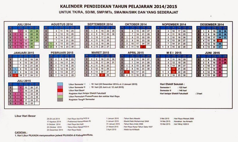 kalender pendidikan 2014 2015 search results calendar 2015. Black Bedroom Furniture Sets. Home Design Ideas